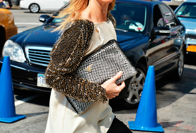 Buttercuptrend Purses Spotted At New York Fashion Week