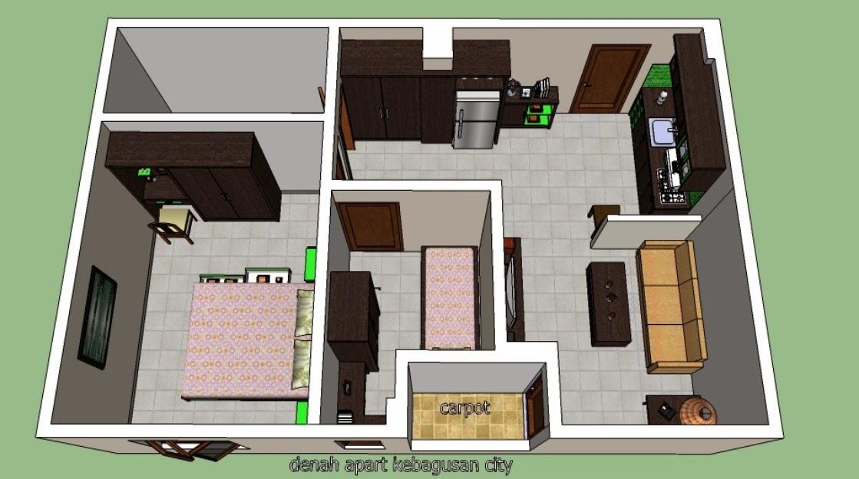 Desain Interior Furniture Model Rumah Sederhana 2014