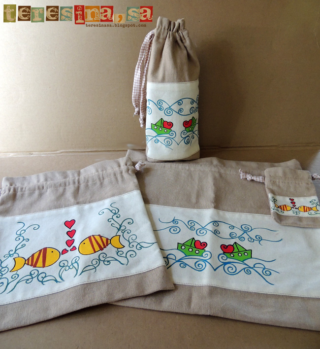 Conjunto bolsas para bebé