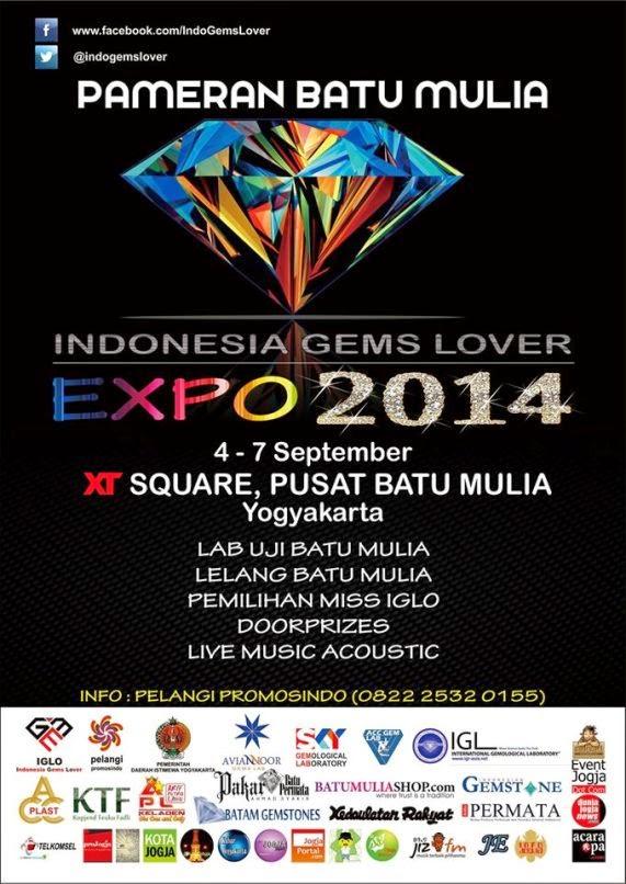 PAMERAN BATU MULIA TERBESAR IGLO EXPO 2014