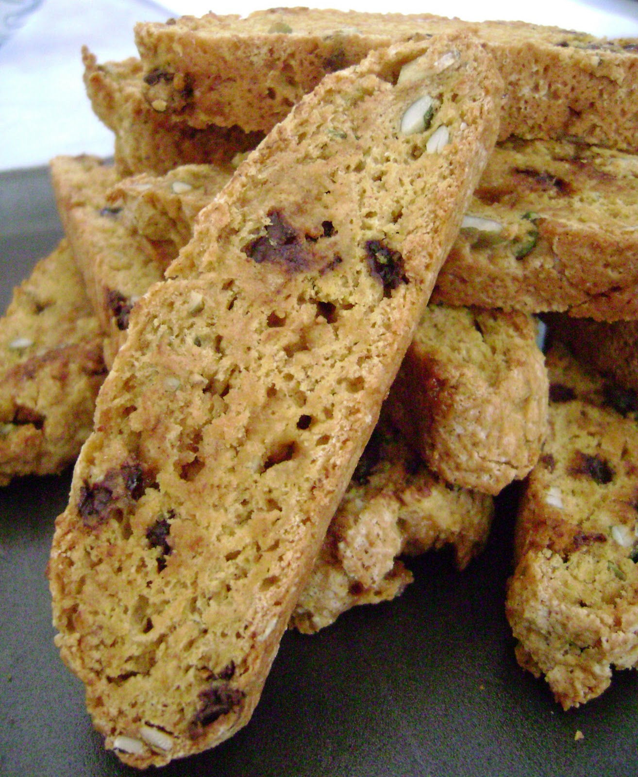 Pumpkin Biscotti Recipe — Dishmaps