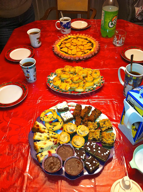 Spread of Christmas Goodies - Christmas Pep Talk