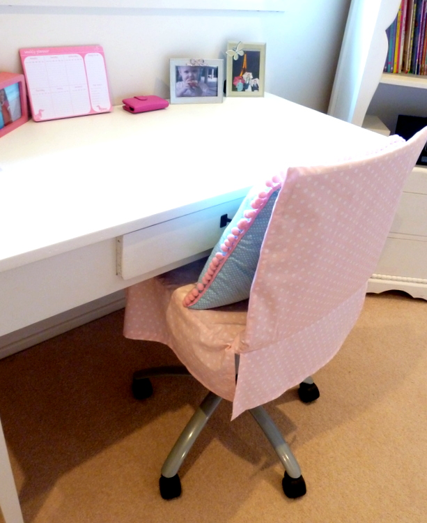 How To Make A Chair Cover For A Shabby Old Desk Chair Part 88