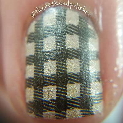 Plaid Nail Art Macro