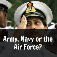 Army, Navy or the Air Force?