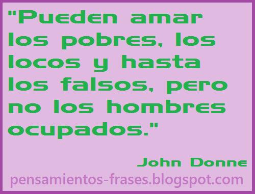 frases de John Donne