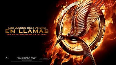 Imagen del logo del libro 'Los Juegos del Hambre: En llamas'