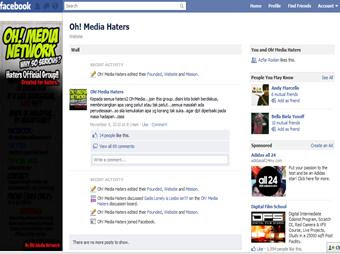 oh+media+haters Fan Page Oh! Media Network Kena Hacked! PANAS!!