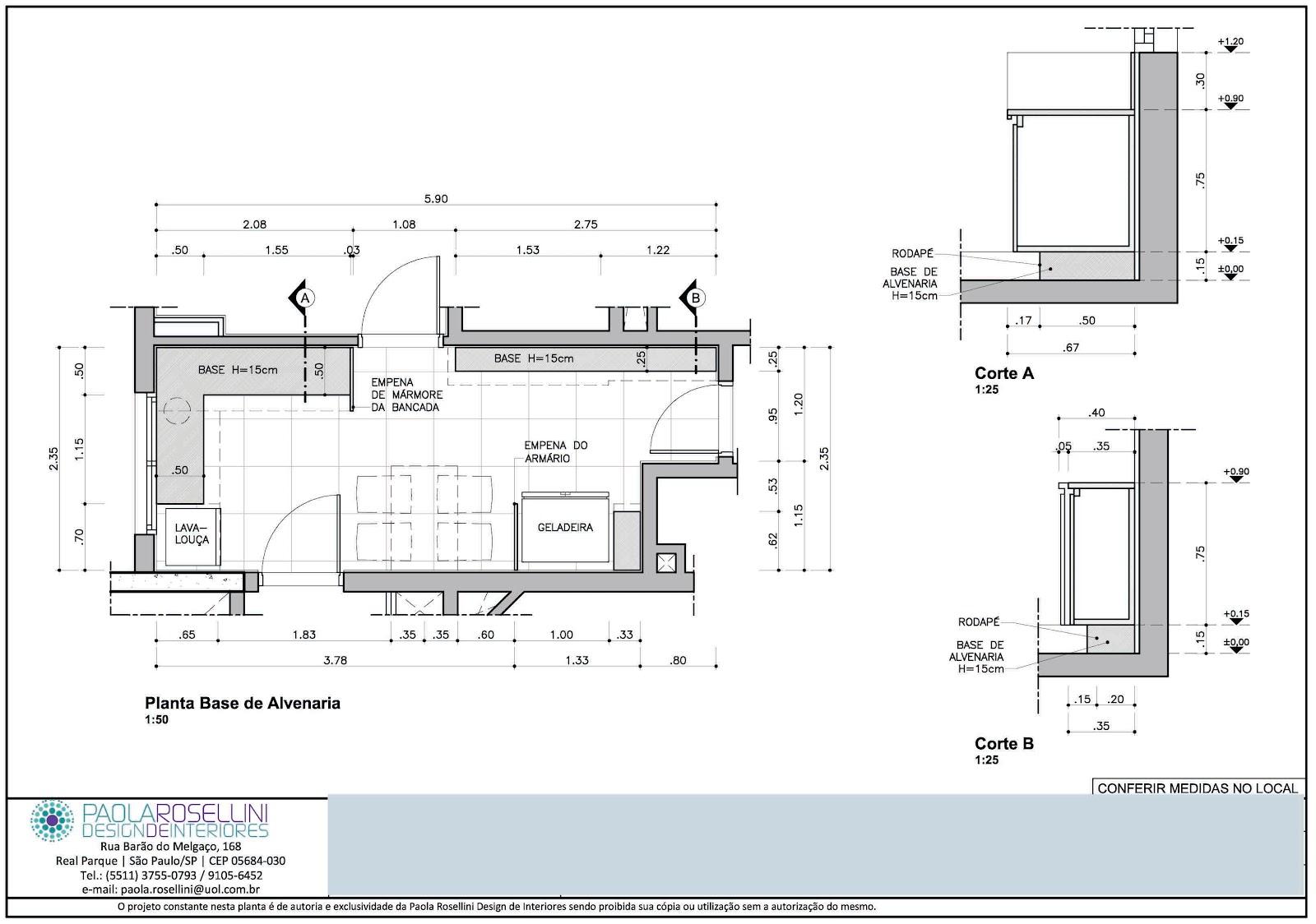 #507A7B MARIANA PROJETISTA: Março 2012 1600x1124 px Projeto De Arquitetura De Cozinha Industrial #2759 imagens
