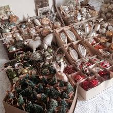 Jag samlar på antikt julpynt