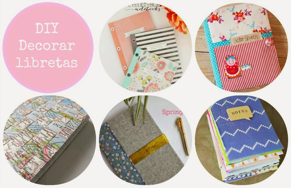 Tutoriales Libretas DIY