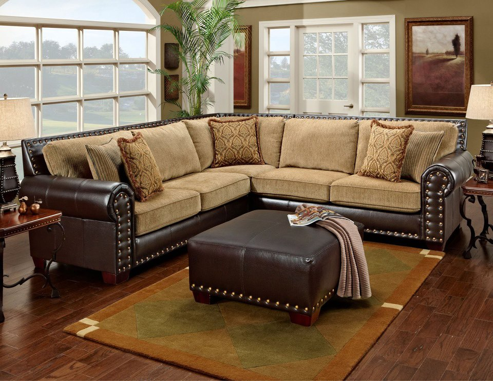 Rustic furniture plus rustic furniture plus for Traditional living room ideas with leather sofas