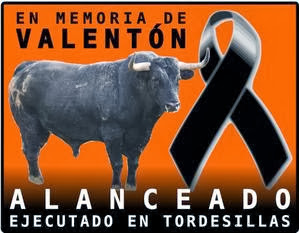 Alanceado cruelmente en Tordesillas.