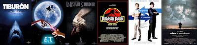 Carteles de las películas de Steven Spielberg