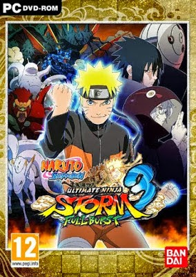 Naruto Shippuden: Ultimate Ninja Storm 3 Full Burst PC Game Cover Image