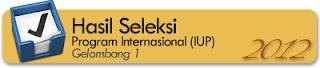 Penerimaan Mahasiswa Baru Universitas Gajah Mada (UGM) Yogyakarta