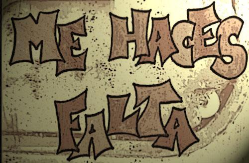 HACES FALTA