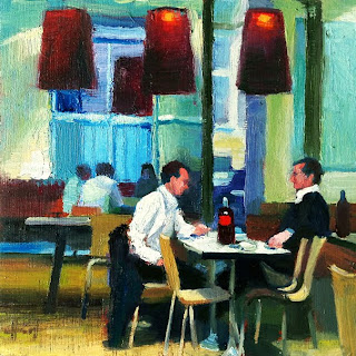 Lunch Break by Liza Hirst