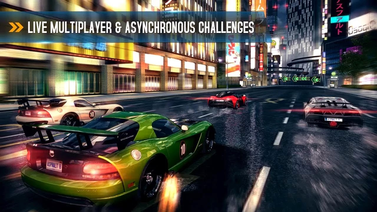 Asphalt 8: Airborne v1.5.0h Mod [Unlimited Money]