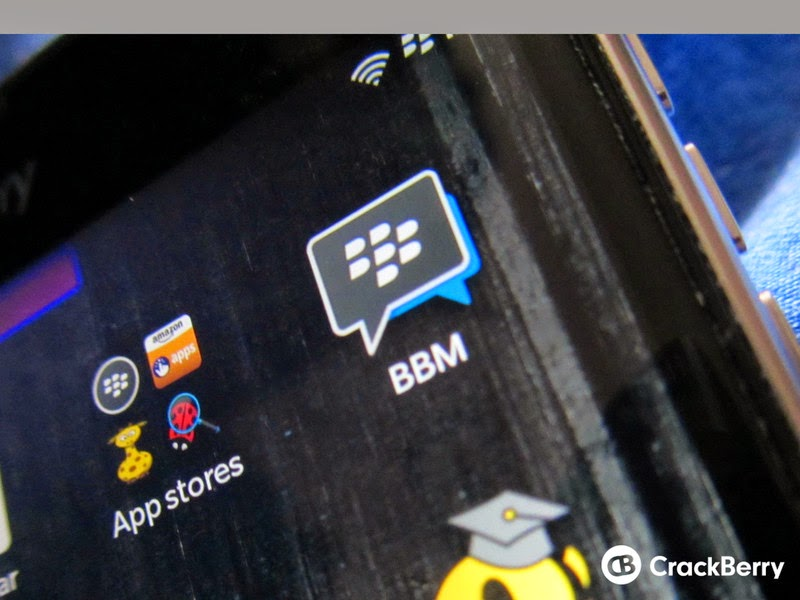 BBM update for BlackBerry
