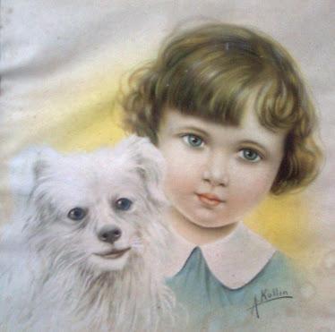 Menina e Cãozinho