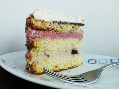 Six-Layer Ice Cream Birthday Cake | www.happyhealthymotivated.com