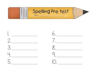 Treasures Spelling List Freebies - Little Priorities
