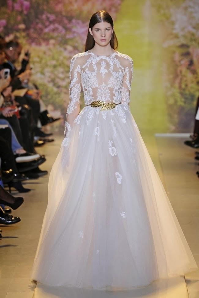 Evening dresses zuhair murad couture spring 2014 aisle for Zuhair murad 2014 wedding dresses