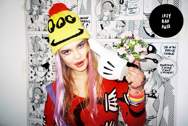 lazy oaf autumn / winter '12 lookbook