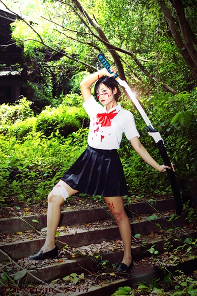 Saya Otonashi Cosplay by Lenneth