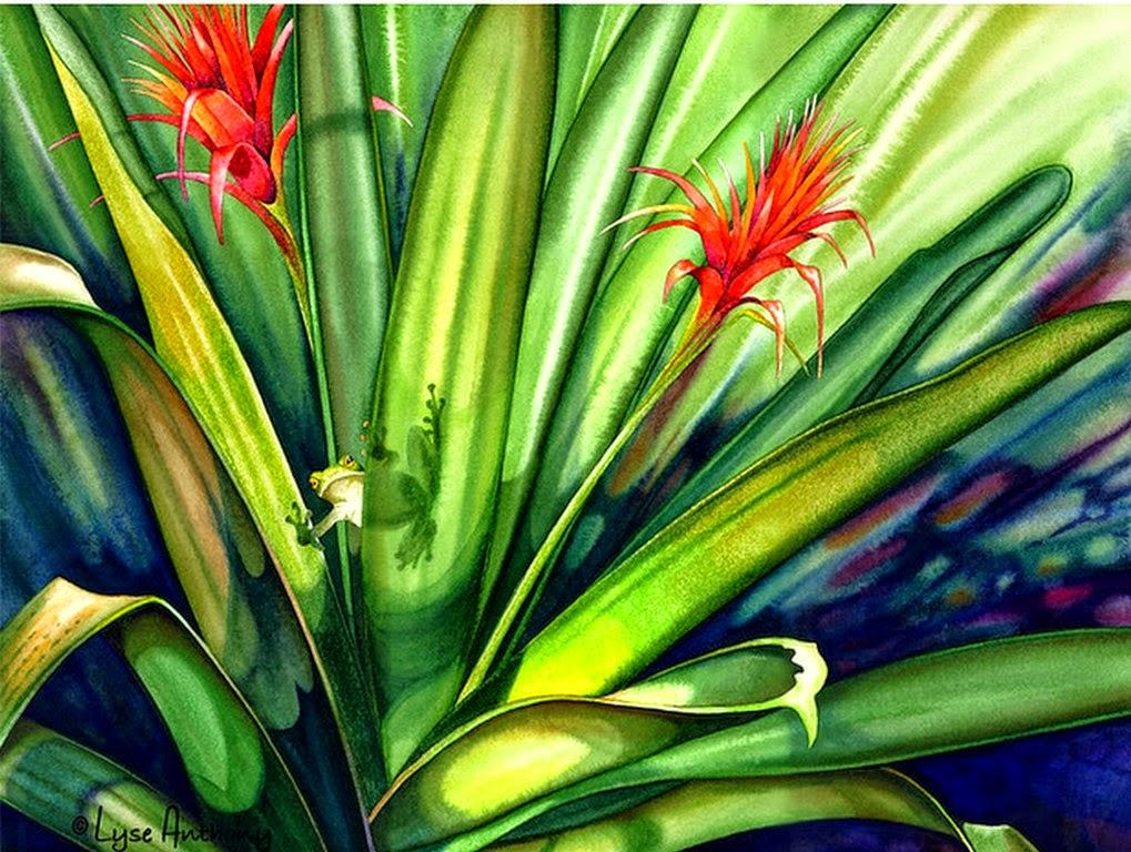 espectaculares-imagenes-de-acuarelas-de-flores-y-animales-silvestres