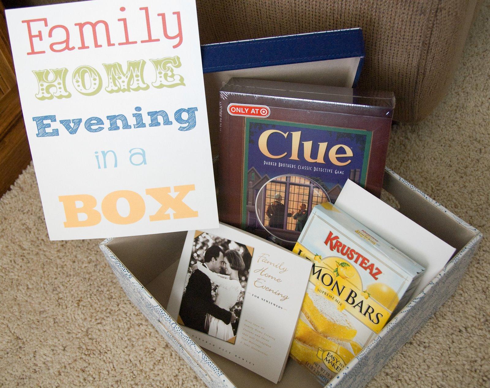Jengerbread creations wedding gift idea family home for Idea door family home evening