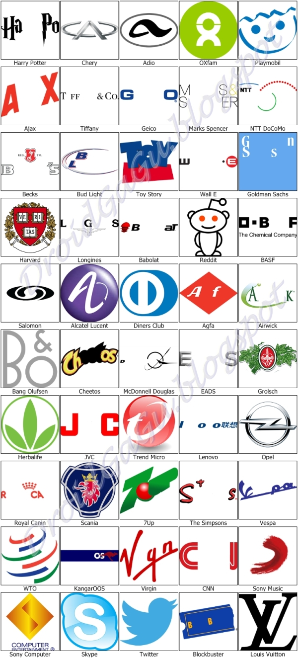 Logo Quiz Answers Level 13