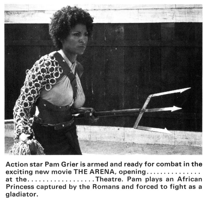Pam Grier Lesbian Scene
