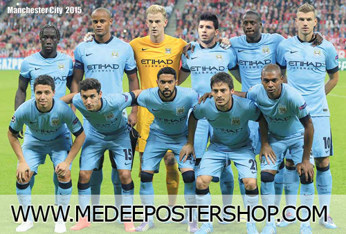MANCHESTER CITY Poster - 4867