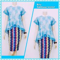 Baju Kebaya Batik Rang Rang Broklat