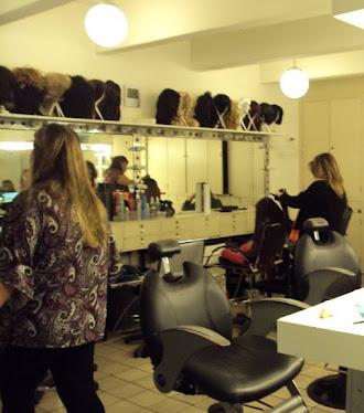 making of Dramatização para BAND..arrumando meu cabelo.