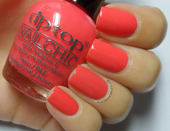 Nail Stories: Tip Top Nails - Creamy Orange & Complete Chaos