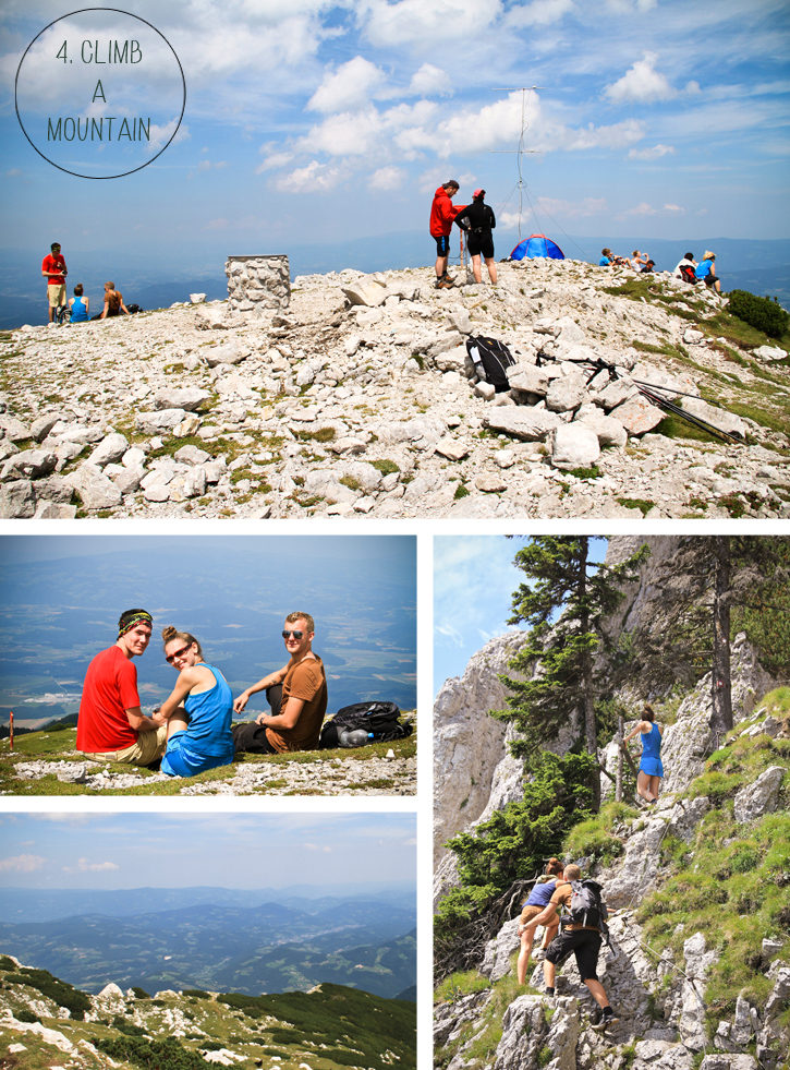 active Slovenia, mountain climb Slovenia, top things to do in Slovenia