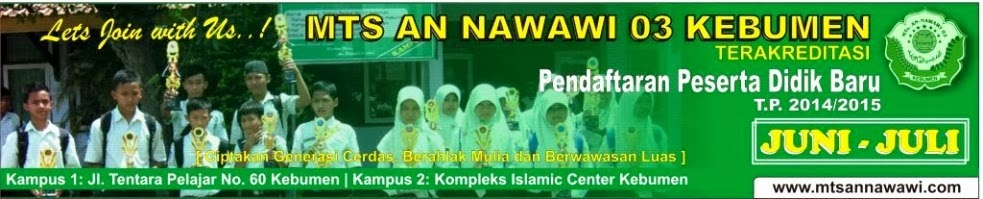 MTs An Nawawi 03 Kebumen On Line