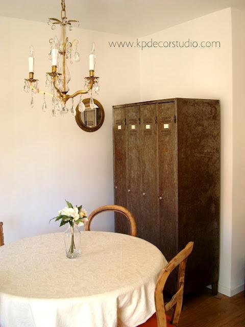 Comprar armario industrial vintage. taquilleros antiguos metálicos para decoración