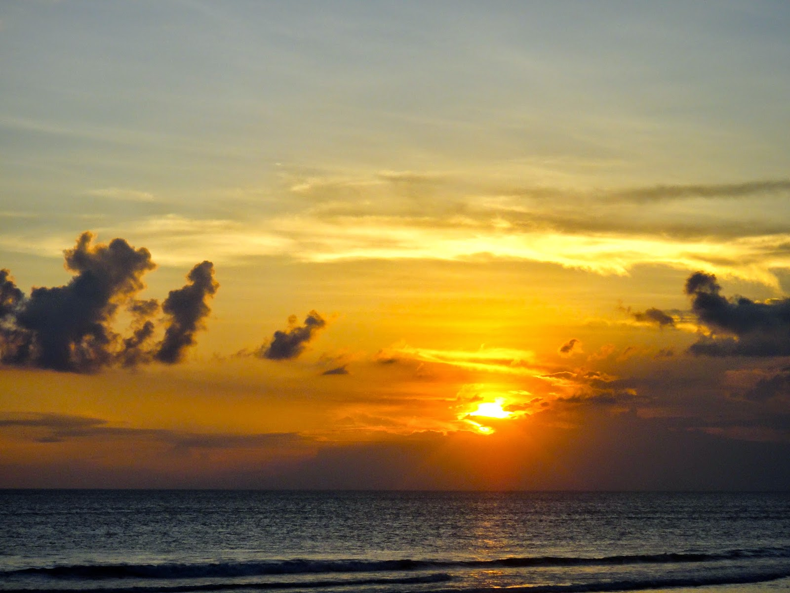 Sunset at Ku De Ta Seminyak Bali Indonesia