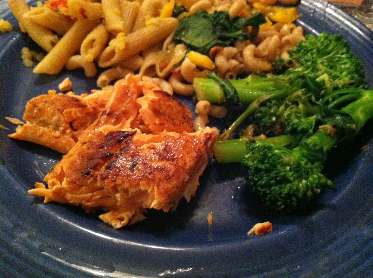 Simple Pan Seared Salmon makes a nice #WeeknightSupper entree. Cooking Chat recipe.