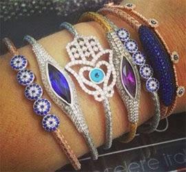 braceletes by Rosa Leal Jewelry em prata 925 com banho de ouro 18k