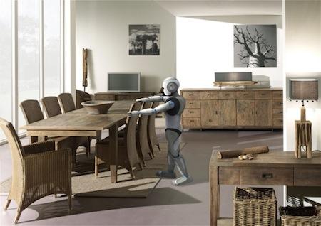 Robot Canggih Humanoid
