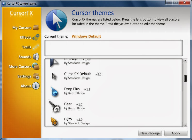 Stardock CursorFX Plus 2.11 Full 2014