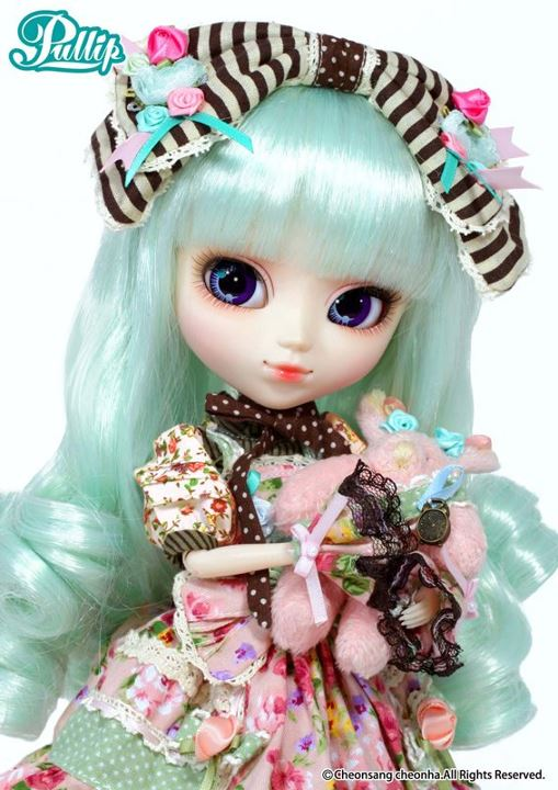 Septembre [2012] -Pullip Alice du Jardin Mint Version