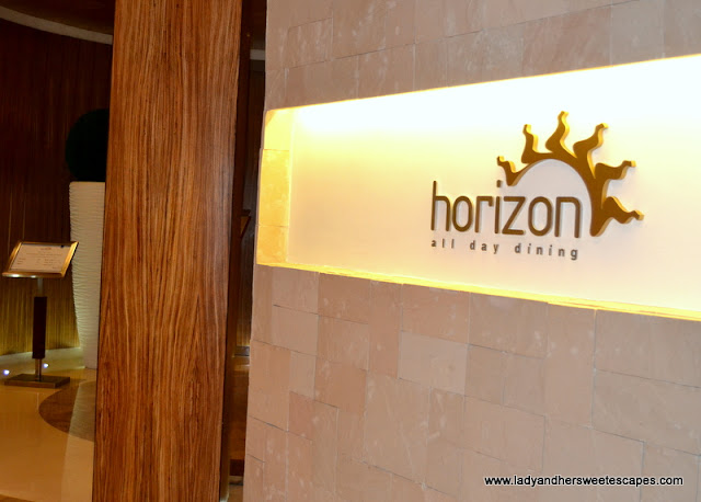 Horizon buffet restaurant Dubai