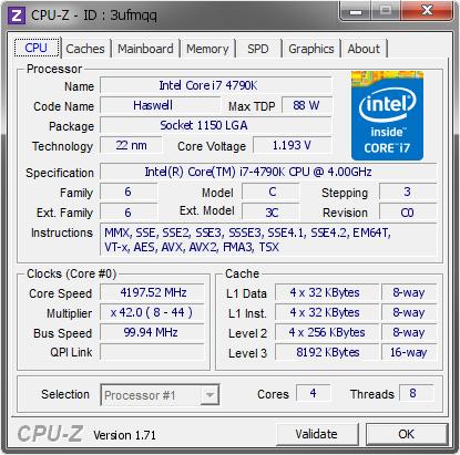 CPU-Z Update