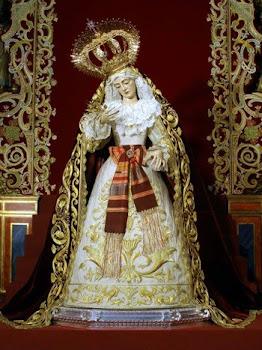 Stma. Virgen de los Dolores en su Soledad de Olivares.